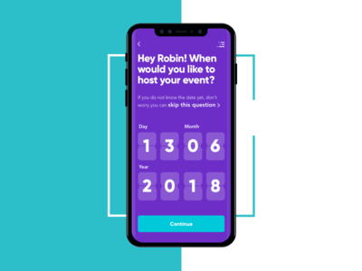 App design for UK event space