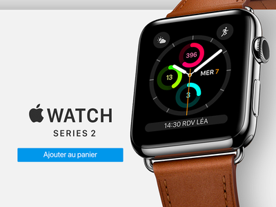 Apple Watch Card UI
