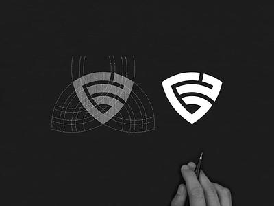 GJ monogram logo apparel luxury monogram simbol simple typography lineart lettermark brand branding lettering icon logo design
