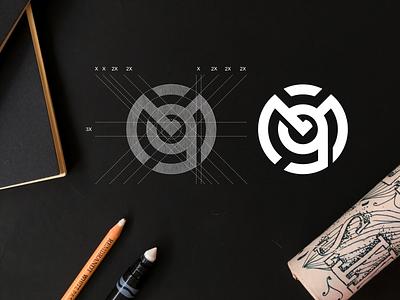 M9 monogram logo concept m9 concept logo minimal symbol monogram vector illustration brand branding icon design lettering logo