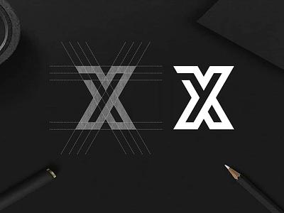 XY monogram logo concept. xy negative space identity minimal symbol monogram vector illustration app branding icon design logo lettering graphic design