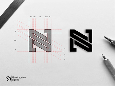 NS monogram logo concept ns mark logo concept minimal symbol monogram vector illustration branding design icon logo lettering graphic design