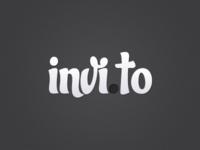 Invi.to Logo Concept (Negative)