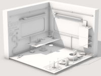 Space Janitors's Room