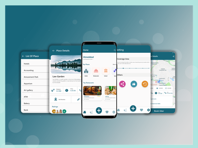 Near by location restaurant hotel android app navigation android app navigation bar dribbble mobile app development mobile app mobile ui navigation