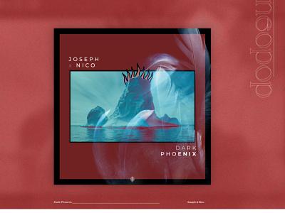 Dark Phoenix - Joseph & Nico bird fire samudiaz design cover iceberg