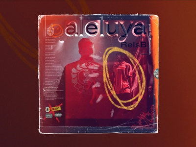 Cover proposal for Rels B - Aleluya chain cover design cover samudiaz music rap aleluya skinnyflakk relsb