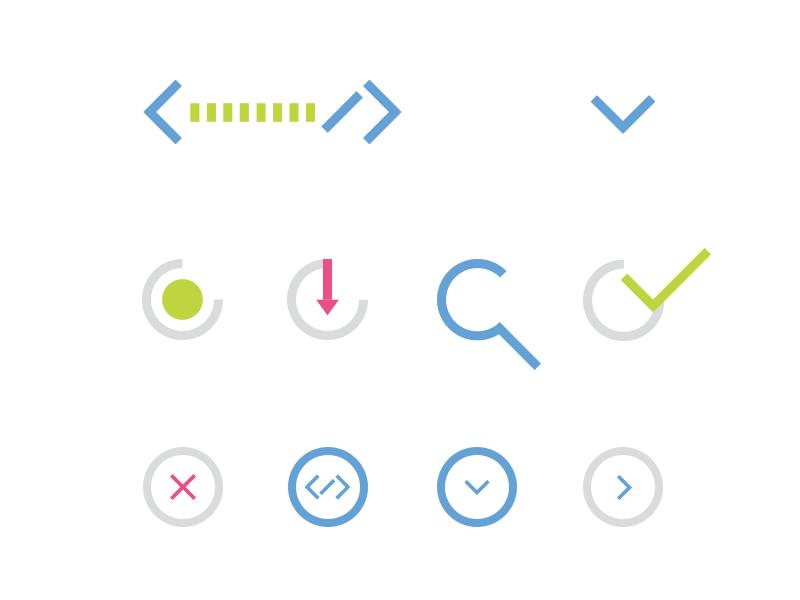 IConography ui design iconography intuitive company