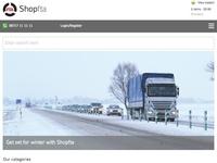 E-commerce site tablet