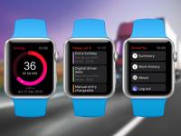 Driverfta Apple Watch concept