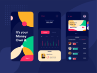 Dark Bank Application Design
