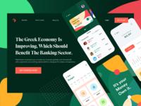 Bank Landing Page Design