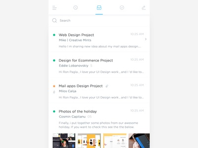 iOS Mail Apps