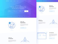 Home Loan Landing Page Concept 04