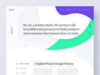 Portfolio Concept Exploration 05 circle-shape unusual agency webdesign web typography profile portfolio minimal layout design bootstrap
