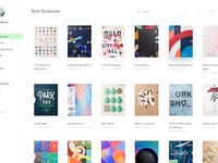 Book ui design exploration