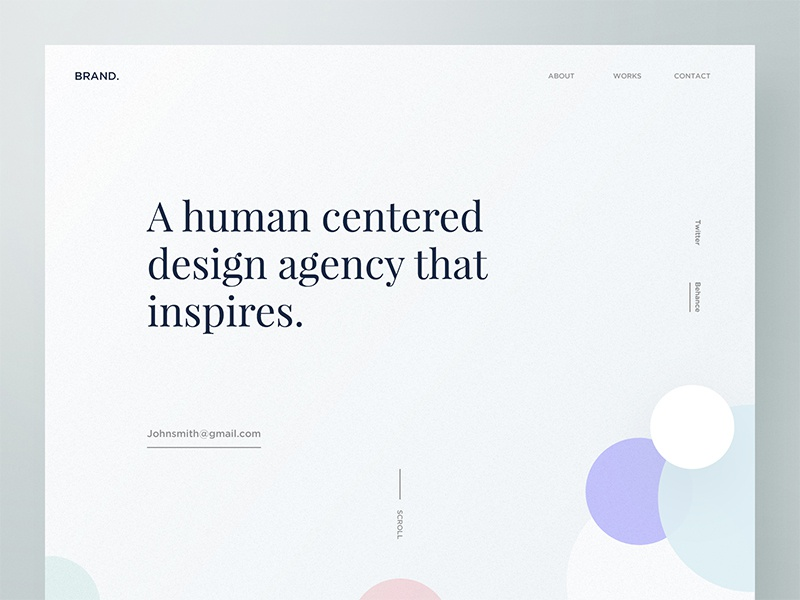 Brand Design Agency Exploration - 02