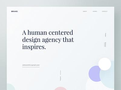 Brand Design Agency Exploration - 02