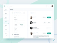 Studio Dashboard Design Post A Job Page