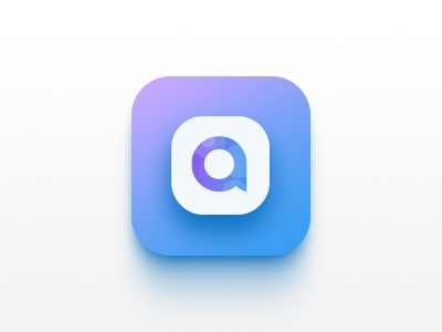 Allurs App Icon social pro mobile messaging ios icons icon home feed connected chat app