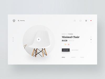 Minimal Chair Design