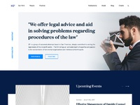 Lawyer website design full