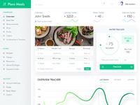 Plans meals dashboard design  full