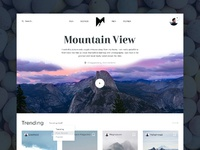 Mountain view  small preview