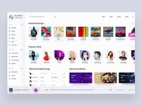 Music UI Design Exploration