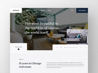 Intesaite Landing Page Concept