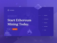 Coinbets Landing Page Design HERO