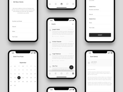 Heroes App Wireframe Design - 02