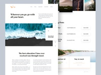 Tui Travel Landing Page Exploration