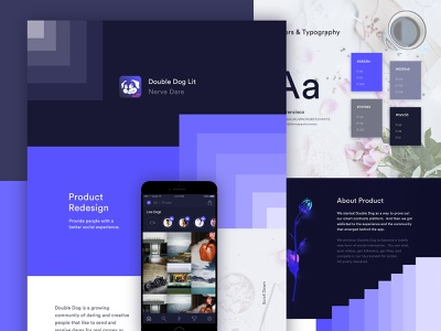 Double Dog Application Behance Case Study product design social app double dog love win prizes share your videos be daring win money send video proof do dares double dog ios app minimal ux ui