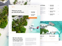 Tui Travel Landing Page Exploration - 02