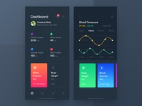 Dark Health Care Application Design