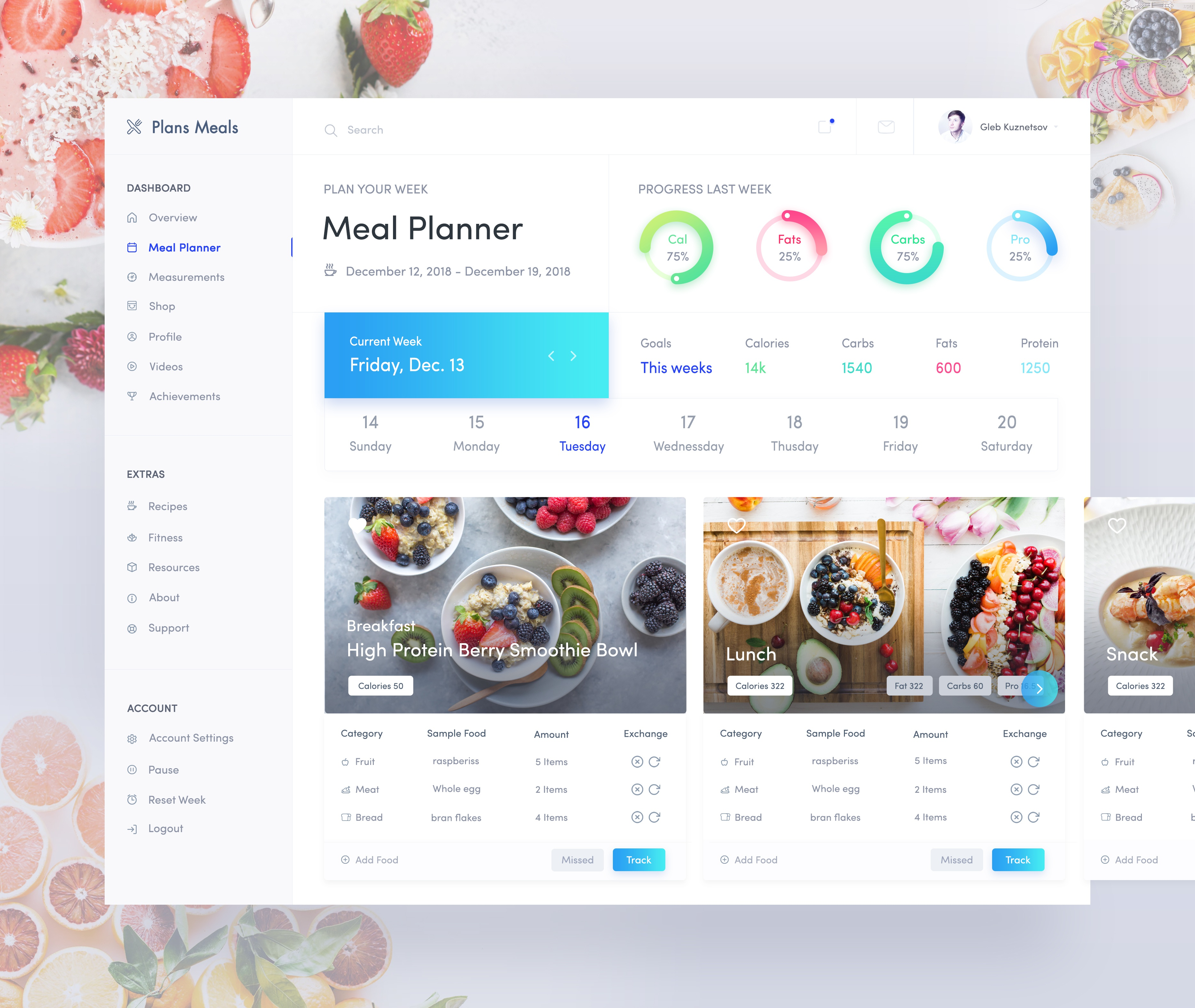 Health app meal plan exploration   02
