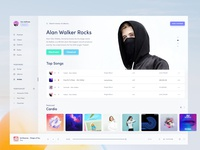 Light Music Artist Page