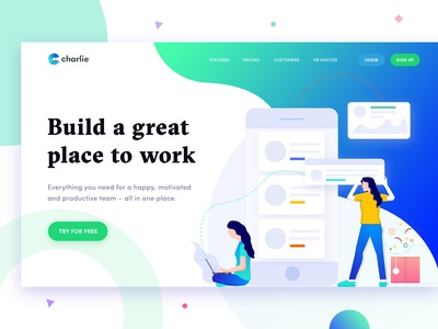 Charlie Landing Page Exploration
