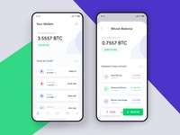 Crypto currencies Wallet & Exchange Application Design