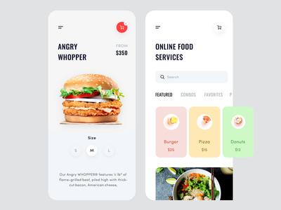 Food Application Design