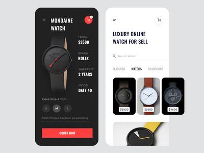 Luxury Watch Application Design 2.0