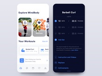 Fitness Application Design