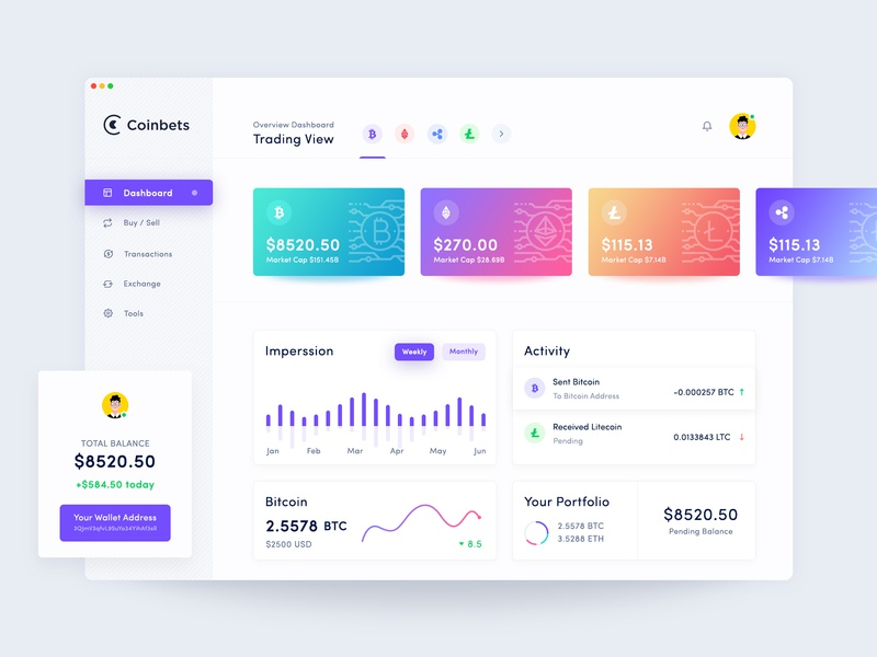 Crypto Dashboard Design product design money page ios material  interface stats finance flat  graph interface design exchange dashboard design crypto website design crypto web application design crypto wallet application design crypto exchange crypto dashboard cryptocurrency app cryptocurrency  crypto currency
