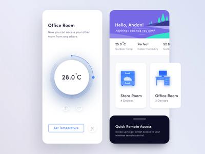 Smart Home Application Design
