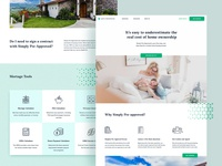 Home Loan Website design