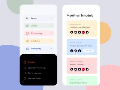Task Management Mobile Version Design