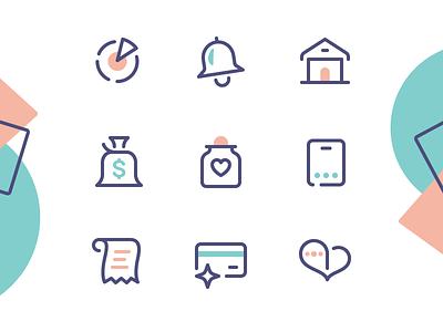 Honey Love icon design icon designer iconography