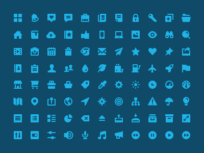 Flaticons - Solid Set Preview shop icons iconography set solid icon symbol glyph collection notification lock folder tag heart key profile calendar clock camera eye mail