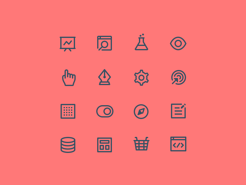 simple icongraphy